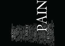 The Pain Factor Text Background  Word Cloud Concept Royalty Free Stock Image