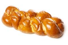 Pain fait maison frais de pain du sabbat Photographie stock libre de droits