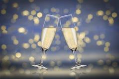 Pain grillé Champagne photographie stock libre de droits