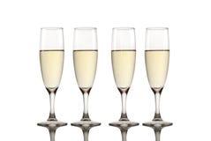 Pain grillé Champagne photo libre de droits