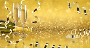 Pain grillé Champagne Image libre de droits