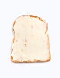pain grillé d'écart fondu par fromage Photographie stock