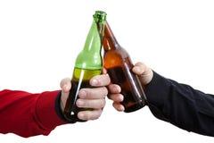 Pain grillé de bière Photos libres de droits