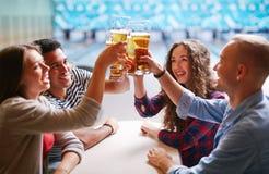 Pain grillé de bière Images stock
