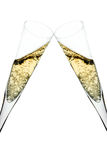 Pain grillé de Champagne Photo libre de droits