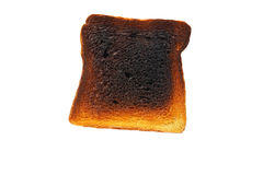 pain grillé de part de pain Photographie stock libre de droits