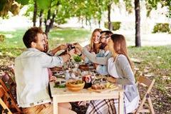 Pain grillé de thanksgiving Image libre de droits