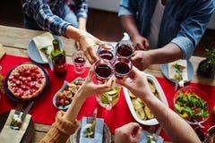 Pain grillé de thanksgiving Photographie stock