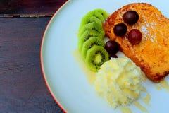 Pain grillé français doux Photo stock