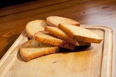 Pain grillé frit Image libre de droits