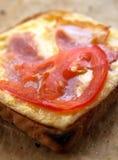 Pain grillé grillé chaud Photo stock