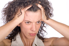 Pain and headache Stock Photography