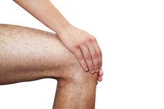 Pain in leg Stock Images