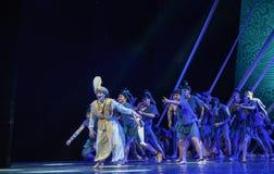 "The pain lost comrades-Dance drama ""The Dream of Maritime Silk Road"". Dance drama ""The Dream of Maritime Silk Road"" centers on the plot stock photo"
