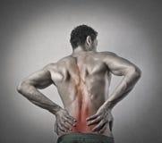 Pain man Stock Photo