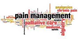 Pain management stock illustration