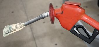 Pain at the Pump Stock Photography