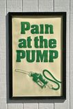 Pain at the Pump Stock Photos
