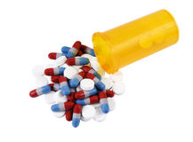 Pain relief or drug addiction? Royalty Free Stock Images