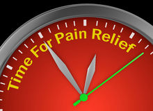 Pain relief Stock Photography