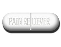 Pain Reliever Royalty Free Stock Image