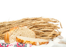 Pain sans levain de blé Images stock