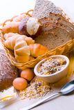 Pain, usine de céréale, pâtes Pain, usine de céréale, Image stock