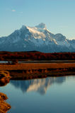 Paine Grande in Torres del Paine National Parc Royalty Free Stock Photos