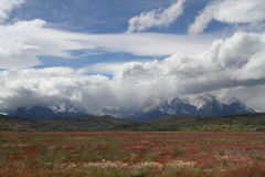 Paine Mountains Range Landscape Royalty Free Stock Images