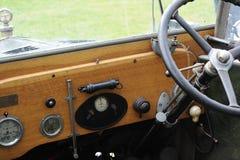 Painel clássico do carro Imagens de Stock Royalty Free