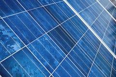 Painel da energia solar Fotos de Stock Royalty Free