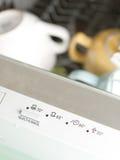 Painel da máquina de lavar louça Imagem de Stock Royalty Free