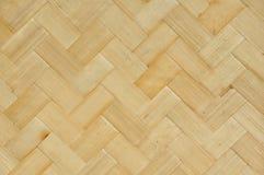 Painel de bambu do teste padrão Fotos de Stock