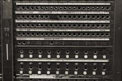 Painel de comando do telefone do sistema de Bell do vintage Fotos de Stock