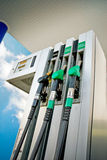 Painel de combustível foto de stock