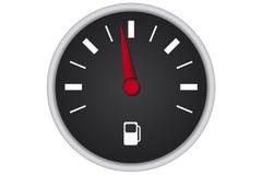 Painel de combustível do carro Imagem de Stock Royalty Free