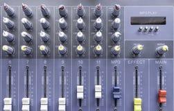 Painel de controle Imagem de Stock