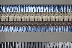 Painel de controle, conjuntos de cabo imagens de stock