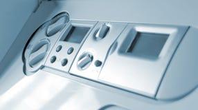 Painel de controle da caldeira de gás Fotografia de Stock
