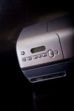 Painel de controle da impressora fotografia de stock