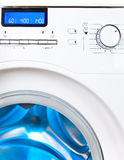 Painel de controle da máquina de lavar foto de stock