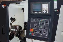 Painel de controle da máquina do CNC Imagens de Stock Royalty Free