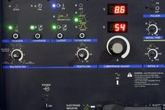 Painel de controle de uma máquina Fotografia de Stock
