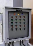 Painel de controle do tratamento da água Imagem de Stock Royalty Free