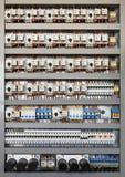Painel de controle elétrico fotos de stock royalty free
