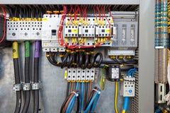 Painel de controle elétrico Imagens de Stock