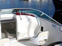 Painel de controle em branco do barco de motor Fotos de Stock