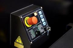 Painel de controle industrial da máquina Fotografia de Stock Royalty Free