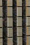 Painel de distribuição do cabo da central foto de stock royalty free