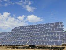 Painel de energias solares Imagens de Stock Royalty Free